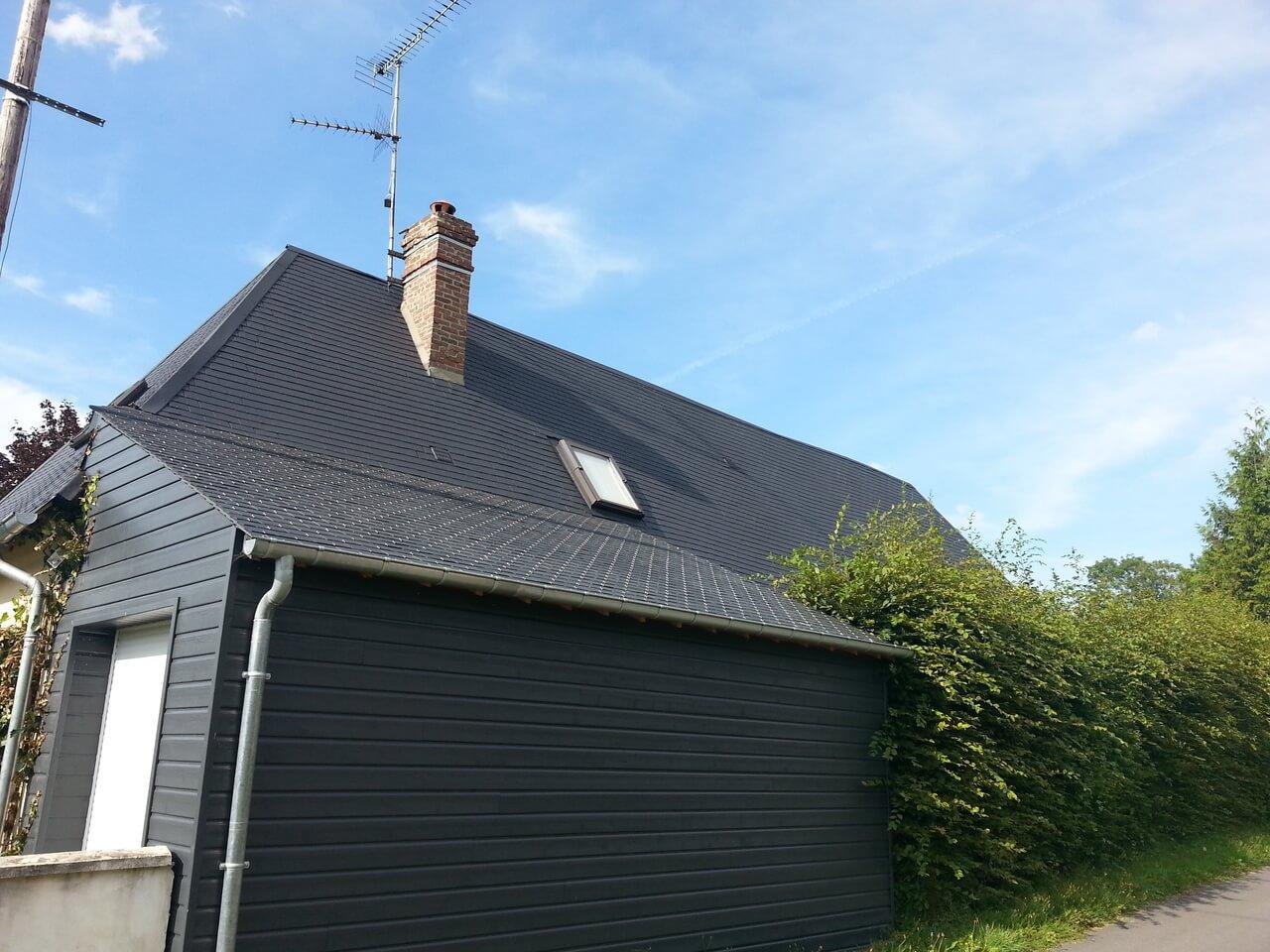 bardage extension maison Alençon