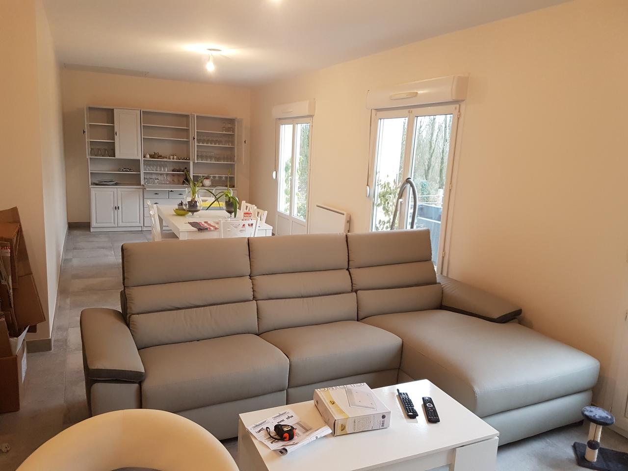 Réaménagement d'une maison à Saint Longis (72)