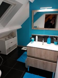 Aménagement d'une salle de bain à Bourg le Roi (72)