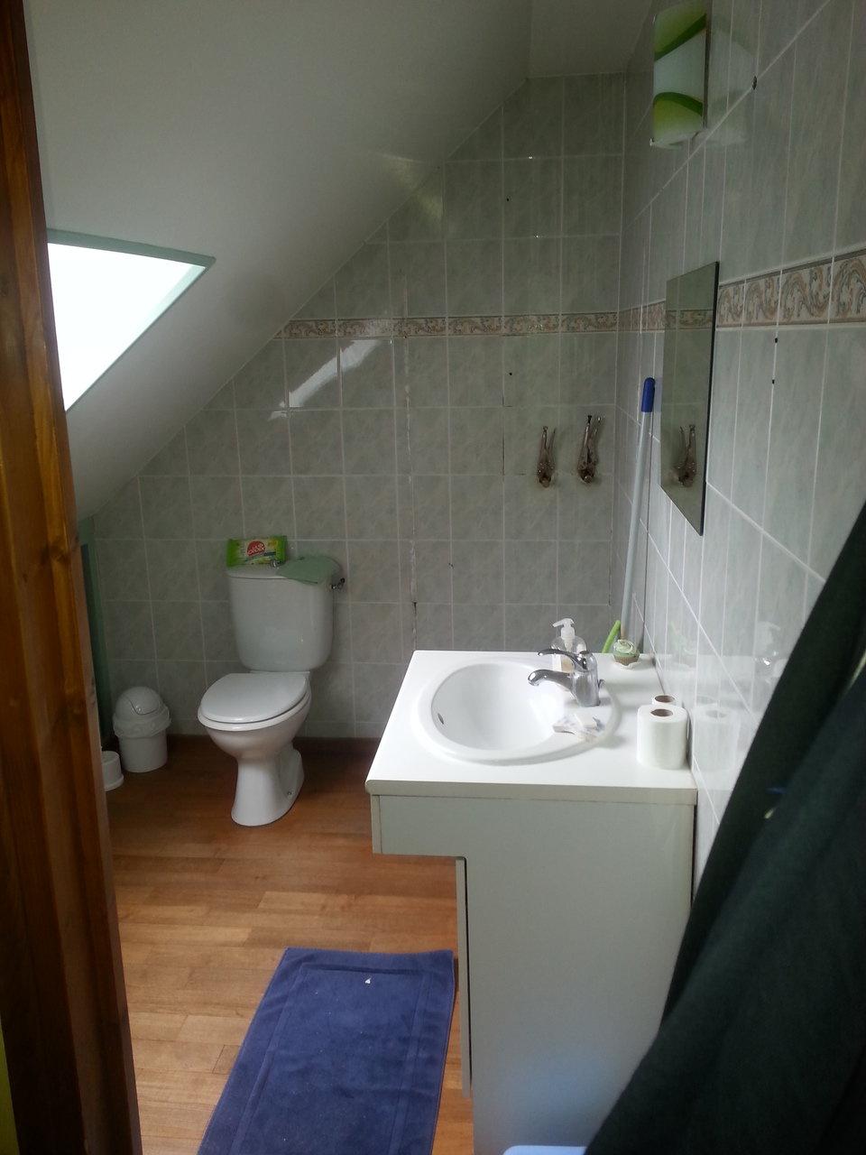Salle De Bain Isolation ~ am nagement d une salle de bain bourg le roi 72 ras habitat
