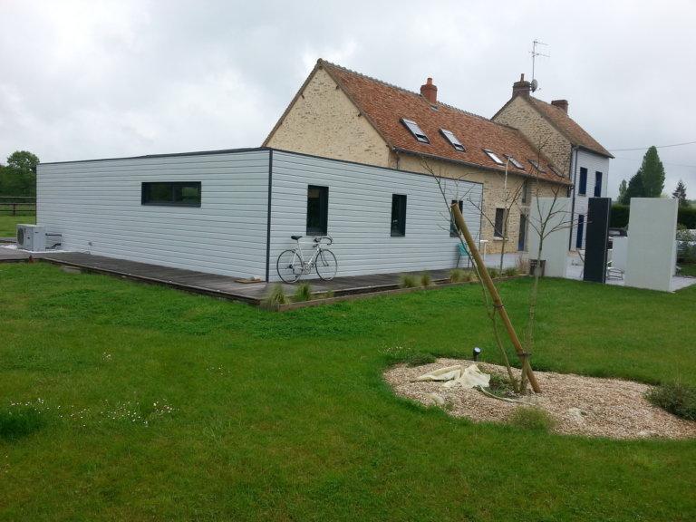 Création d'aménagements extérieurs à Champfleur (72)