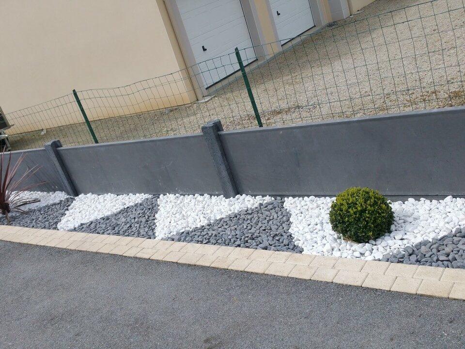 création d'une clôture et décoration