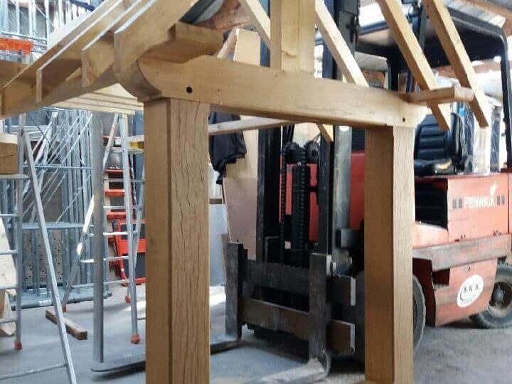 Fabrication de charpente Alençon