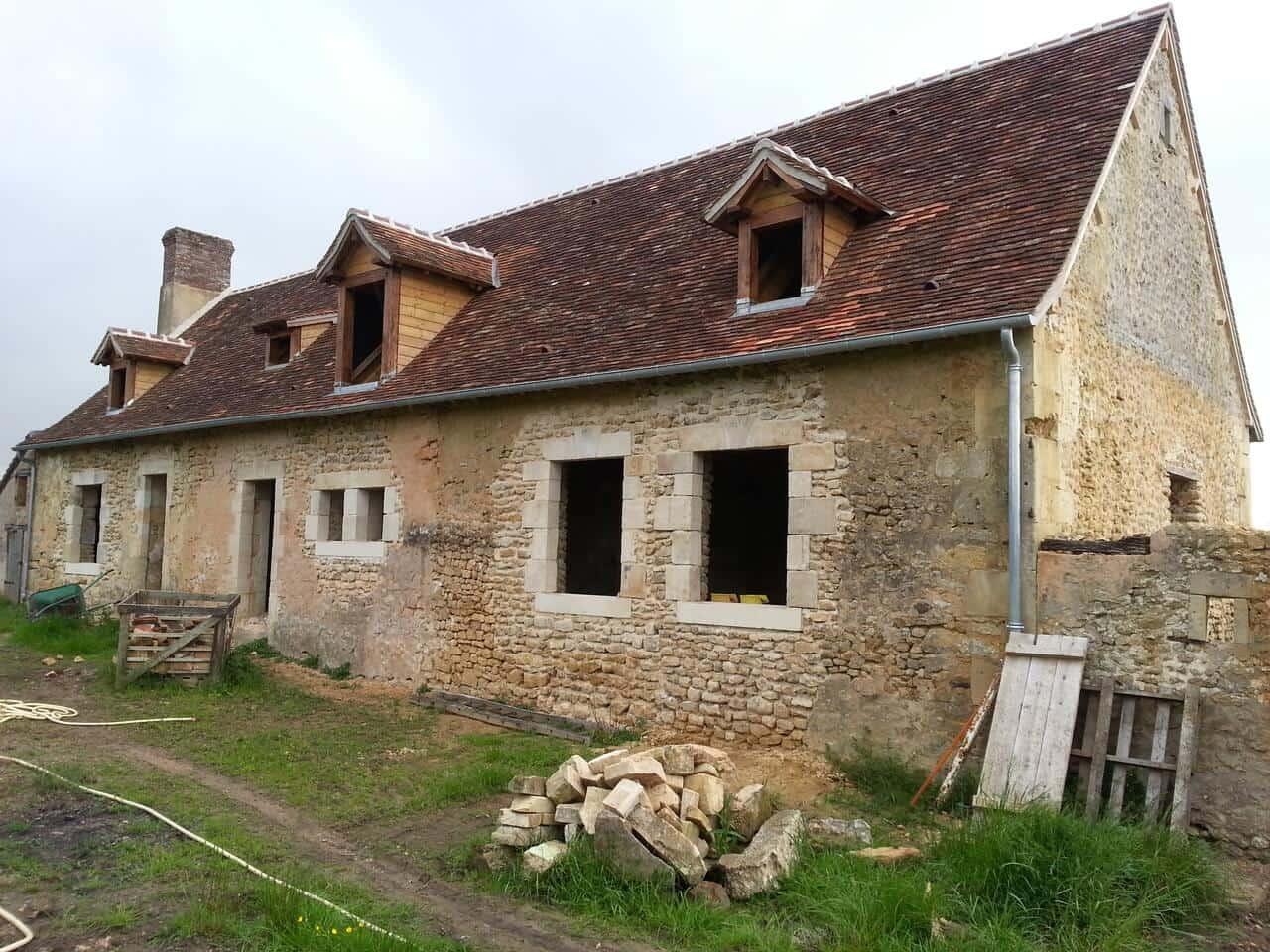 RAS Habitat, rénovation de charpente