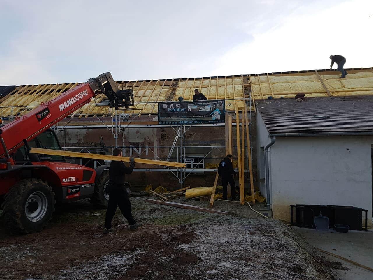 rénovation et isolation de toiture Alençon