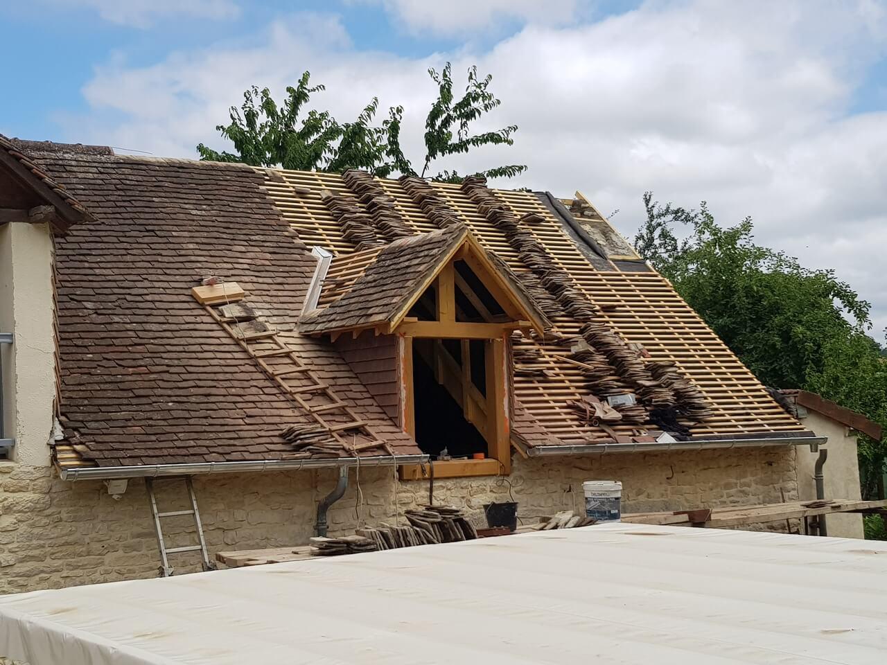rénovation de toiture Alencon