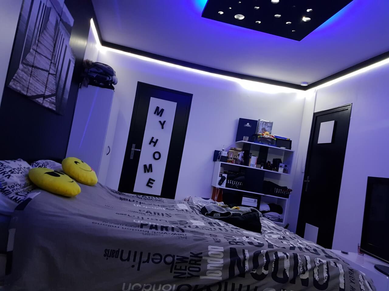 faux plafond chambre