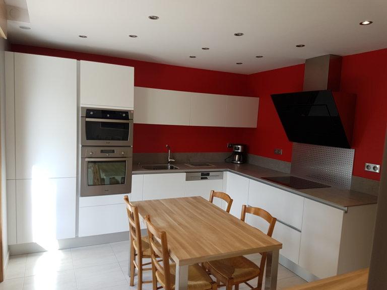 Réaménagement d'une cuisine à Saint Germain du Corbéis (61)