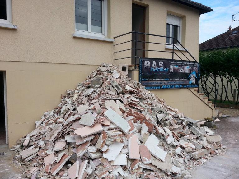 Réaménagement d'une maison à Saint Germain du Corbéis (61)