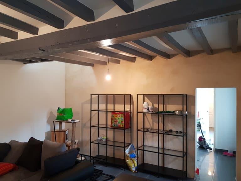 Réaménagement d'une maison à Sougé le Ganelon (72)
